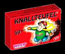 Knallteufel, 50er Schachtel